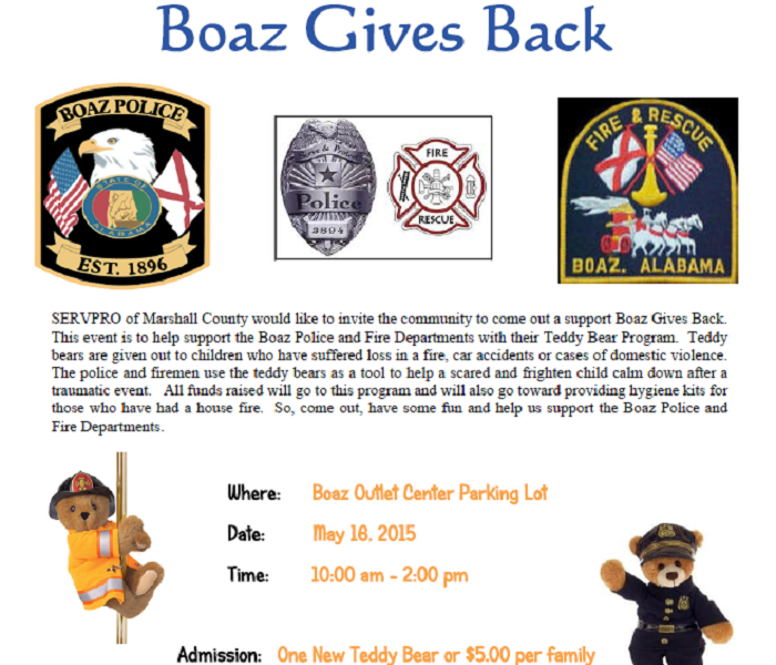 Boaz Gives Back
